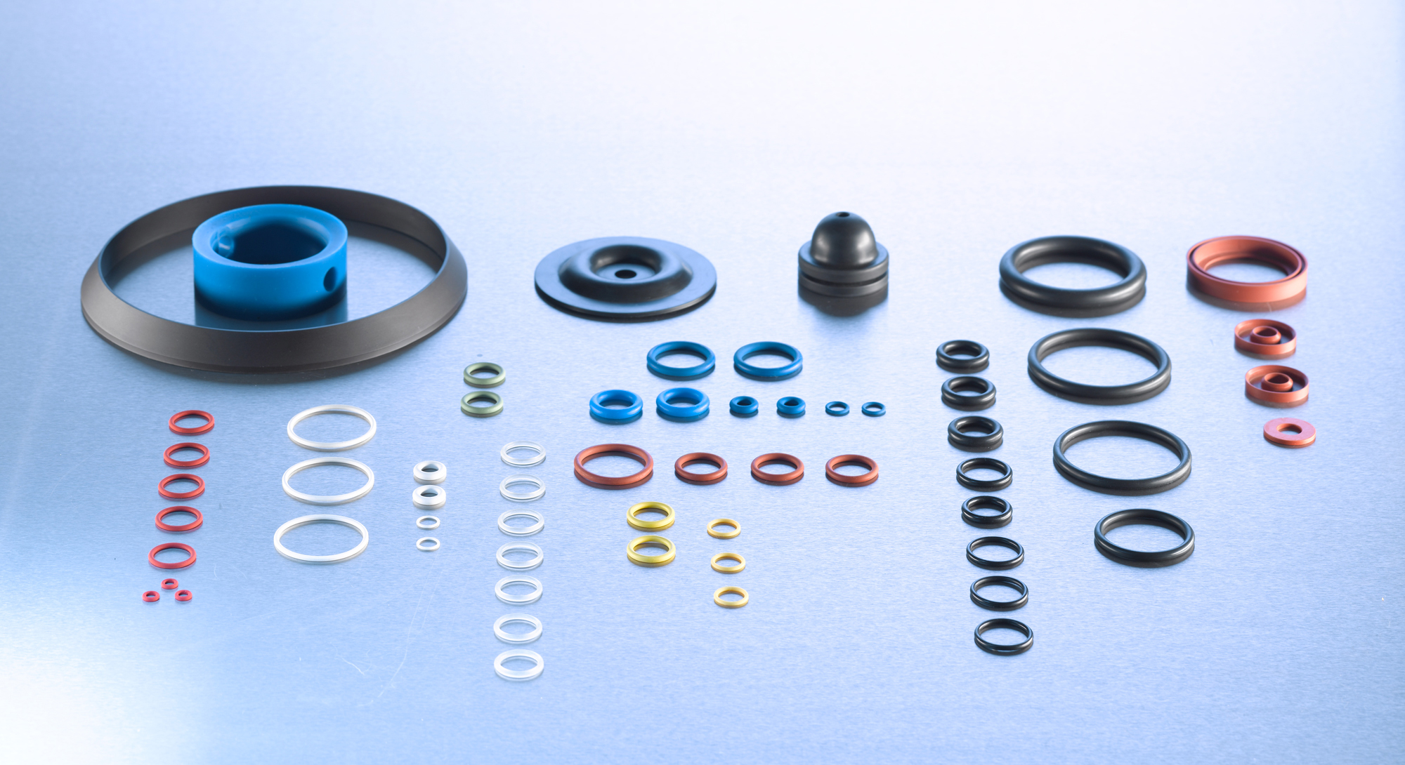O-rings and mouldings